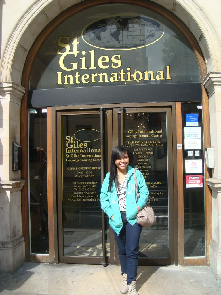 Студентка St. Giles International (New York)