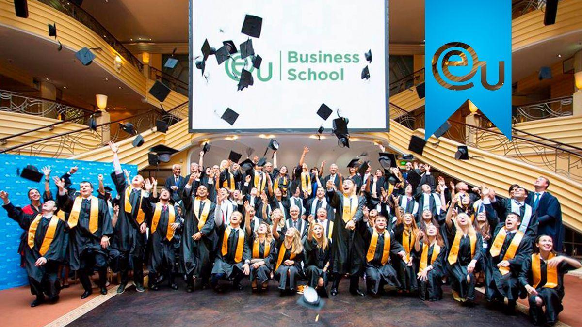Счастливые выпускники European University Business School, Мюнхен