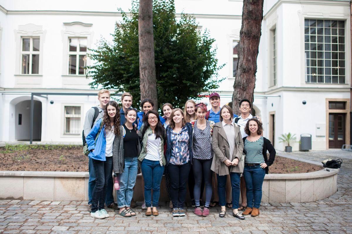 Группа из Anglo-American University in Prague