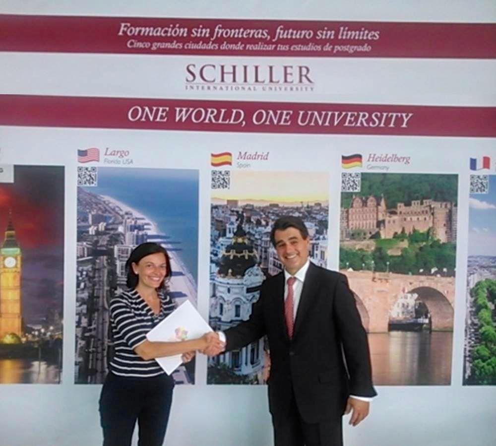 Холл Schiller International University, Франция
