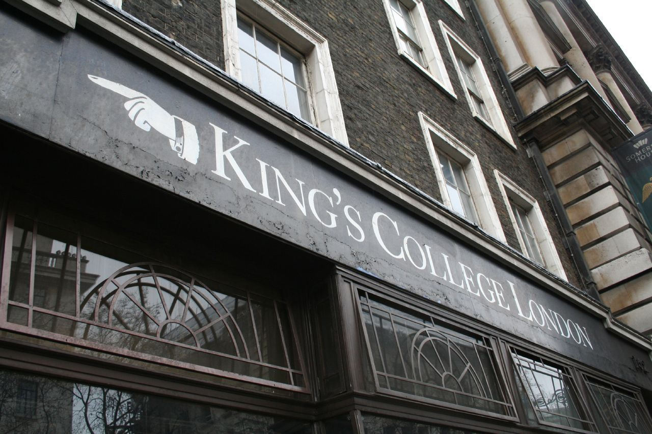 Логотип Kings Colleges, Лондон