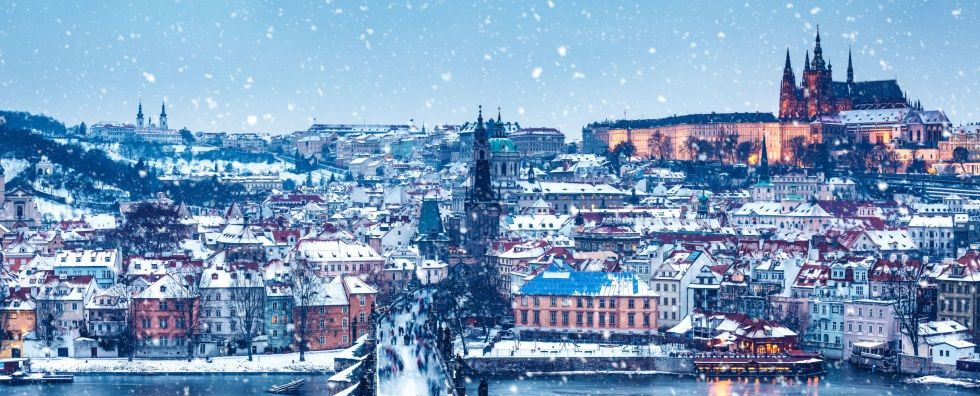 Prague, Winter